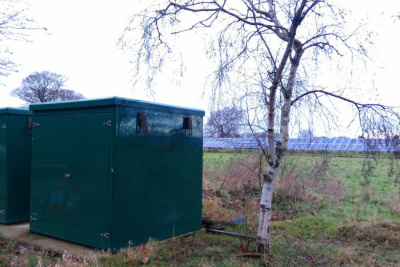 battery storage site