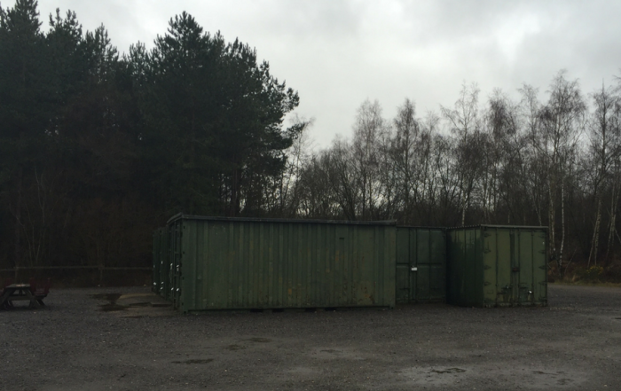 Gas genset site Hampshire