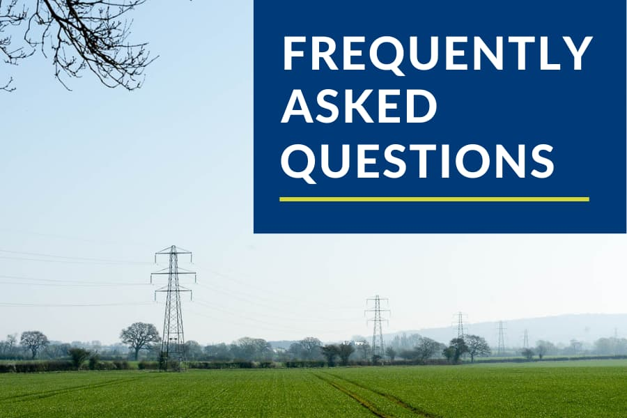 Farm diversification income from energy projects – frequently asked questions
