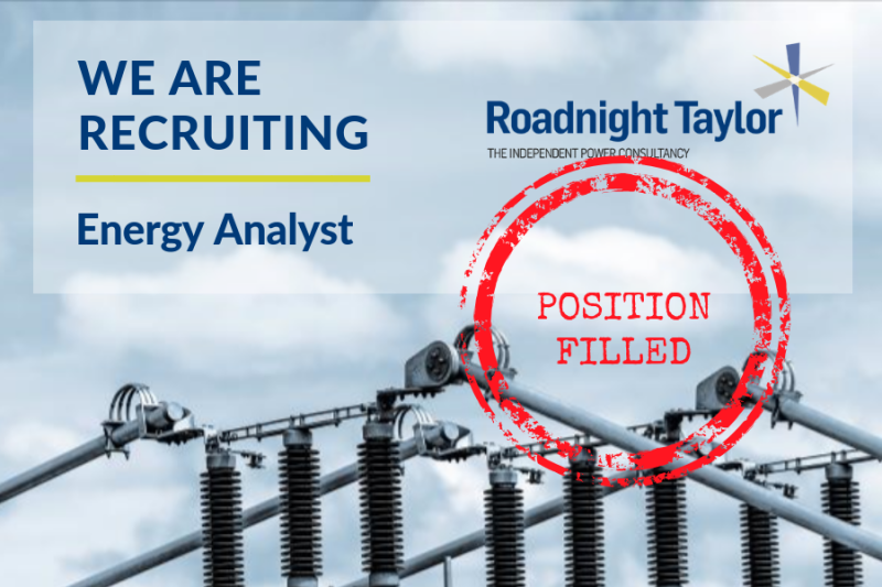 Energy Analyst Position Filled