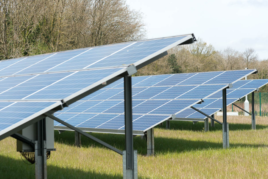 Large-scale solar for rural estates
