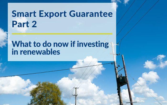 Smart Export electricity