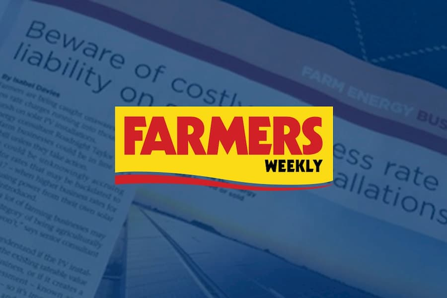 Beware of costly business rate liability on solar PV installations – Farmers Weekly